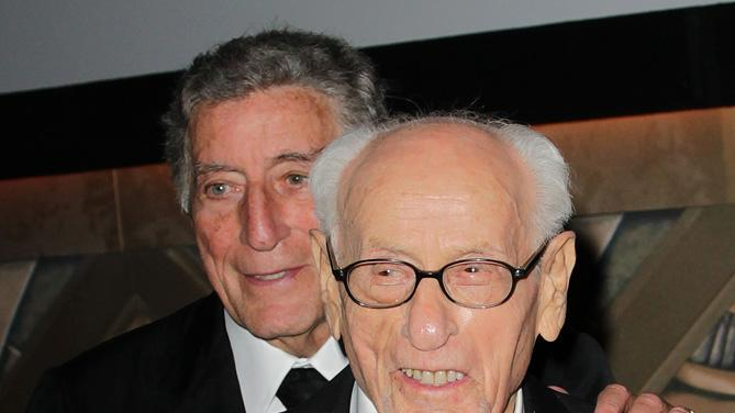 2nd Annual AMPAS Governors Awards 2010 Tony Bennett Eli Wallach
