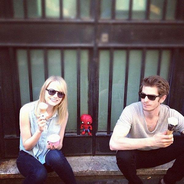 9. Emma Stone And Andrew Garfield