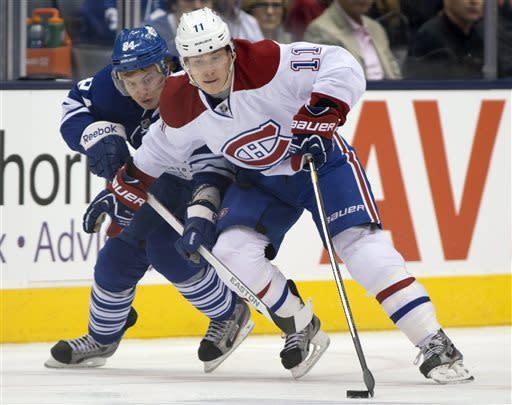 Canadiens defeat sluggish Maple Leafs 4-1