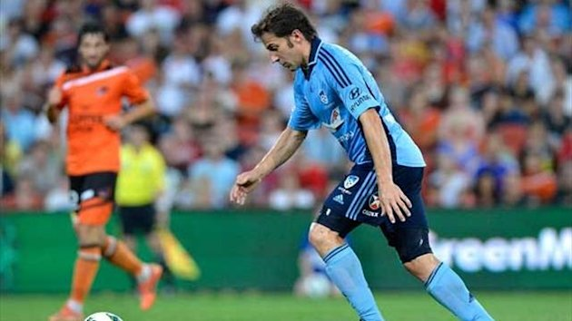 Football A-League 2012-2013 Sydney FC Del Piero