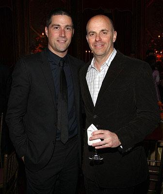 Matthew Fox and Producer Neal Moritz at the New York City premiere of Columbia Pictures' Vantage Point