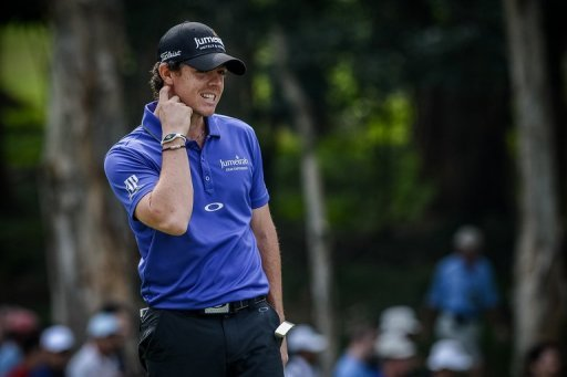 World Number One Rory McIlroy during the second day of the Hong Kong Open in Fanling on November 16. He admitted after tumbling out of the Hong Kong Open that he was badly in need of some rest