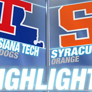 Louisiana Tech vs Syracuse | 2014-15 ACC Men's Basketball Highlights