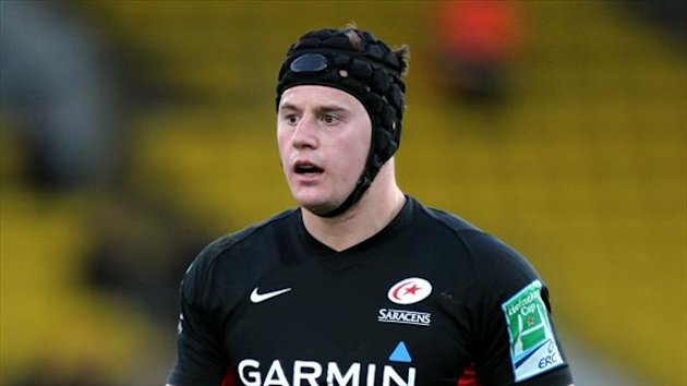 Andy Saull joined Newcastle from Saracens this summer