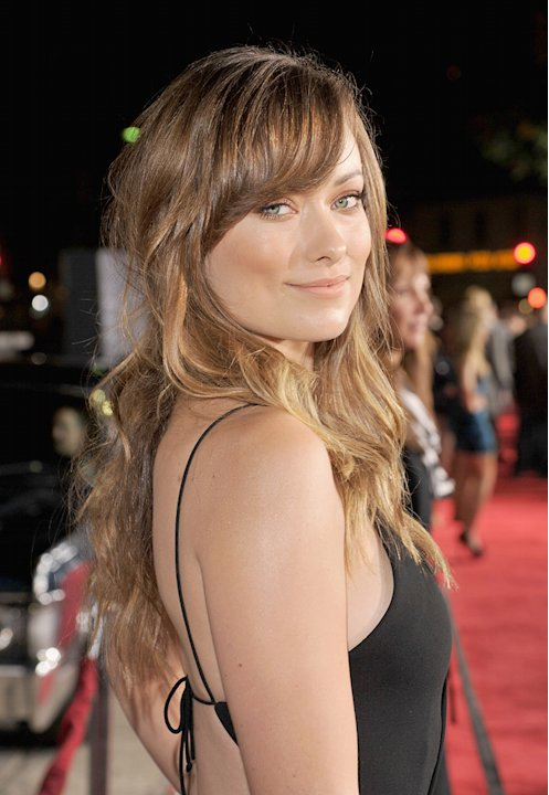 In Time 2011 LA Premiere Olivia Wilde