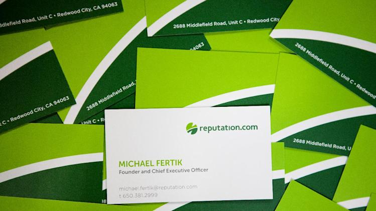 Reputation.com, a company that helps businesses and individuals control their online reputation is based in Redwood City, Calif., Thursday, June 30, 3011.   (Alison Yin/AP Images)