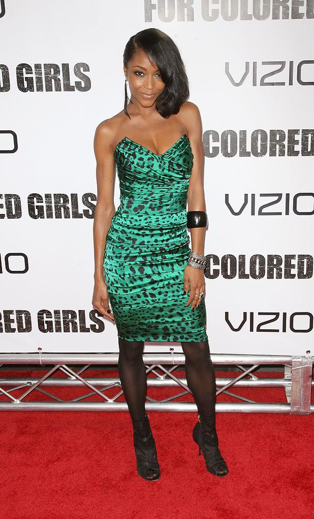 For Colored Girls 2010 NY Premiere Yaya DaCosta