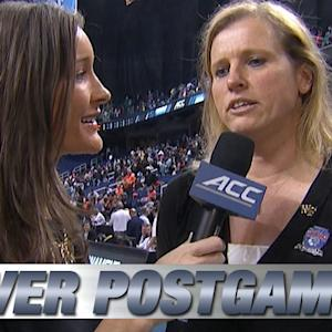 Wake Forest Head Coach Jen Hoover Talks Huge Upset Over Syracuse