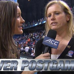 Wake Forest Head Coach Jen Hoover Talks Huge Upset Over Syracuse