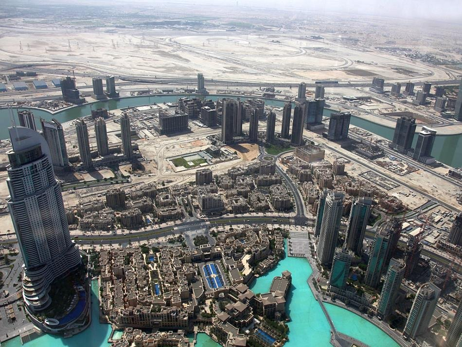 Aerial photo Dubai