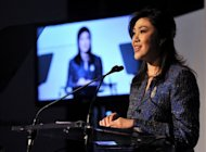 Thai Prime Minister Yingluck Shinawatra, pictured on September 25, said Wednesday that Asia's emerging economies can help the troubled global economy, but warned against allowing conflict in the seas around China from derailing development