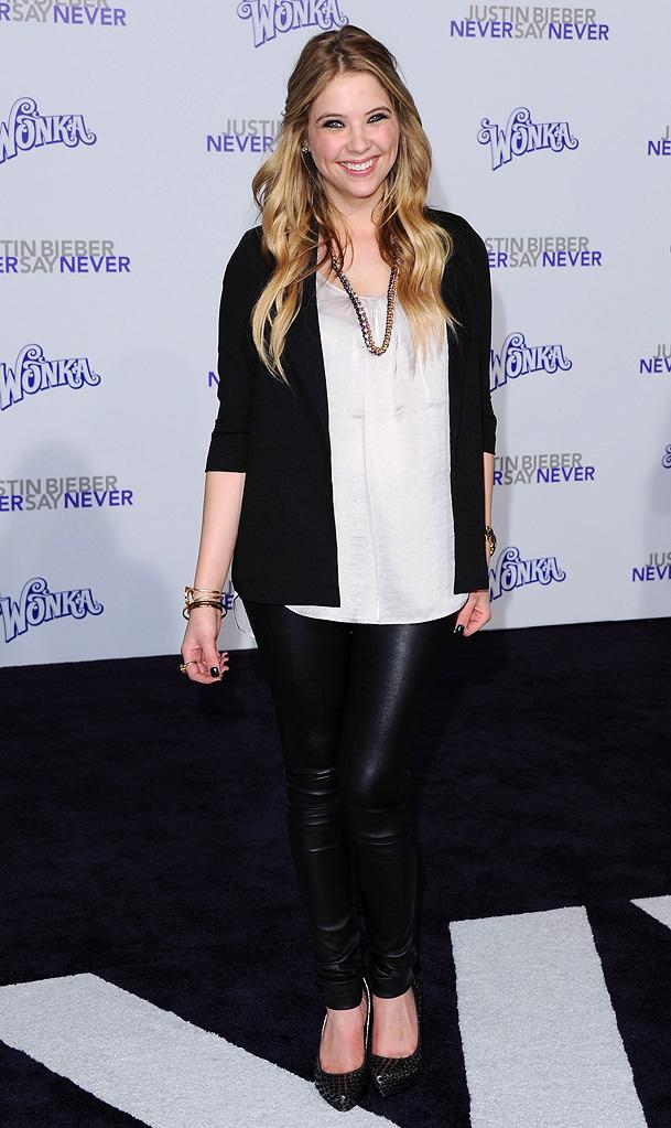 Justin Bieber Never Say Never LA Premiere 2011 Ashley Benson