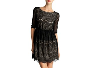 MM Couture Lace Minidress