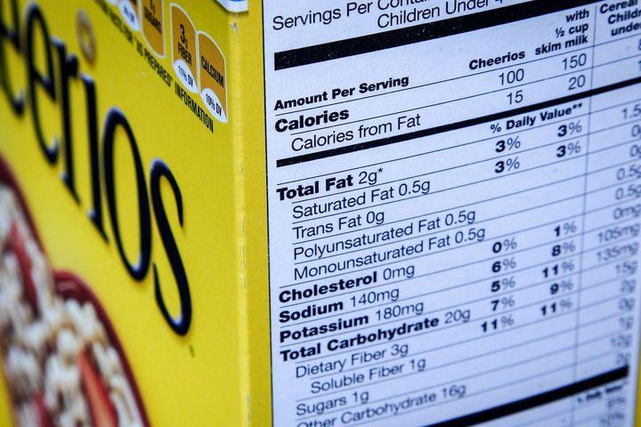 Big changes are coming to the nutritional info printed on your food