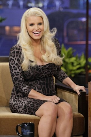 Jessica Simpson appears on &#39;The Tonight Show&#39; on January 15, 2013 -- NBC