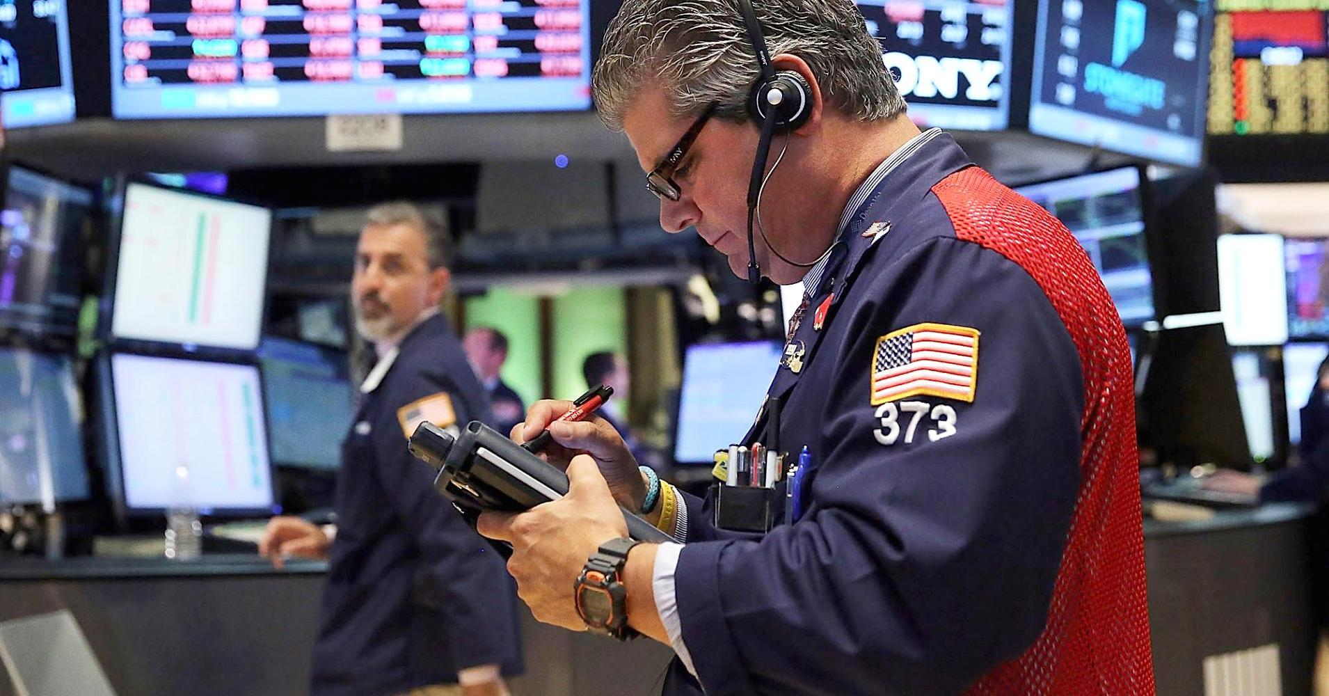 Dow futures briefly jump more than 150 points amid data, Draghi