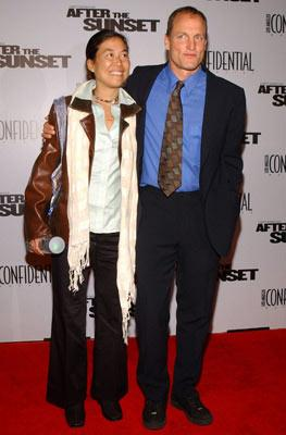 Premiere: Woody Harrelson and wife Laura Louie at the Hollywood premiere of New Line Cinema's After the Sunset - 11/4/2004