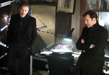 David Thewlis and David Morrissey in Columbia Pictures' Basic Instinct 2