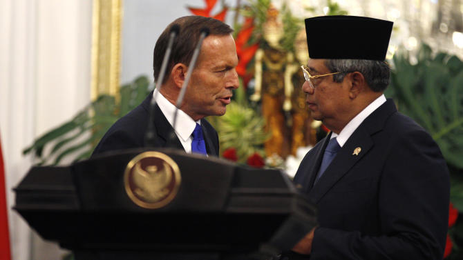 Australia's new PM makes maiden trip to Indonesia