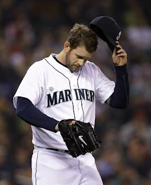 Seattle puts lefty James Paxton on 15-day DL