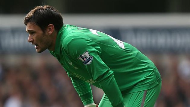 Hugo Lloris, pictured, has come under fire from Didier Deschamps