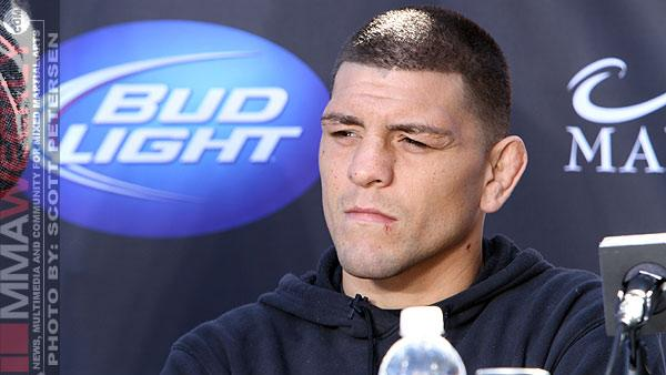 Don't Expect to See Nick Diaz vs. Michael Bisping Anytime Soon
