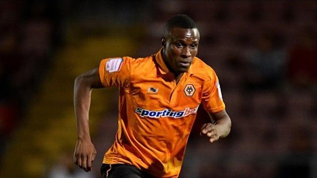 Wolves' midfielder Razak Boukari is on trial at Ligue 1 Sochaux