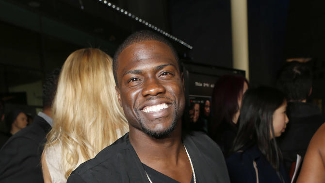 "Kevin Hart attends the premiere of ""A Haunted House"" at the Arclight Hollywood on Thursday, Jan. 3, 2013, in Los Angeles. (Photo by Todd Williamson/Invision/AP)"