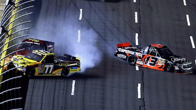 Busch's All-Star struggles continue at Charlotte