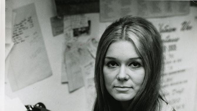 """In this 1972 publicity photo provided by PBS, courtesy of Ms. Foundation, writer, lecturer, editor and feminist activist, Gloria Steinem, who co-founded Ms. Magazine, which became a landmark institution for women's rights, is seen in the film,""""Makers: Women Who Make America."""" The three-hour PBS documentary about the fight for women's equality, airs Tuesday, Feb. 26, 2013, and features prominent activists including Steinem and Marlo Thomas. (AP Photo/PBS, Courtesy of Ms. Foundation)"""