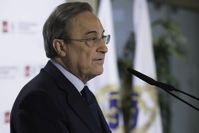 Real Madrid chairman says Manchester United bosses 'lack experience'