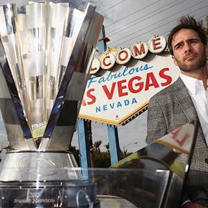 Johnson kicks off Champion's Week in Las Vegas