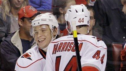 Hurricanes beat Panthers, 3-2, 2nd straight night
