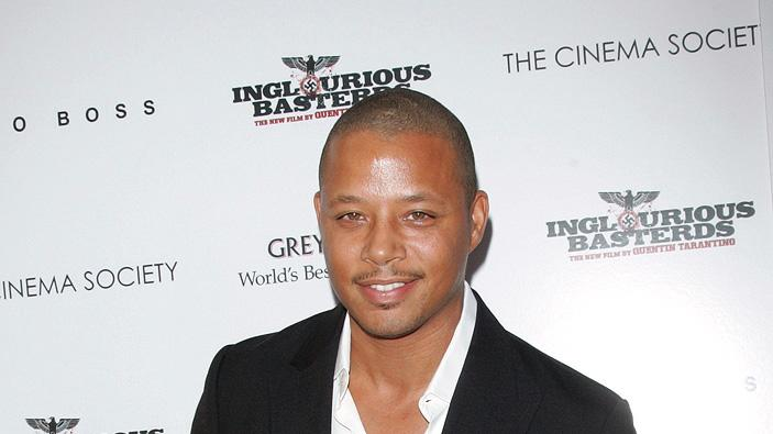 Inglourious Basterds NY Screening 2009 Terrance Howard