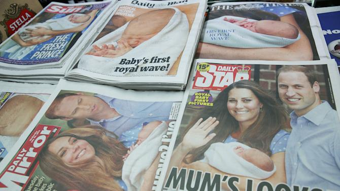 The World Reacts To The Birth Of The Duke And Duchess Of Cambridge's New Son