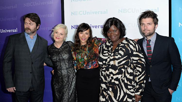 2012 NBC Universal Winter TCA All-Star Party Red Carpet
