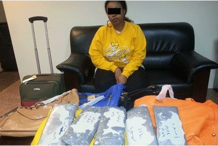Woman caught with Dhs3 million of drugs blames husband for...