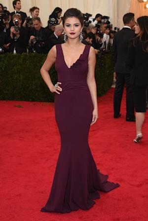 Selena Gomez attends the 'Charles James: Beyond Fashion' Costume Institute Gala at the Metropolitan Museum of Art on May 5, 2014 in New York City -- Getty Images