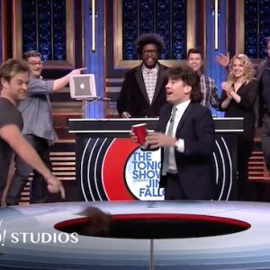 Thor, Wolverine Don Mullet Wigs, Play Musical Beers With Fallon