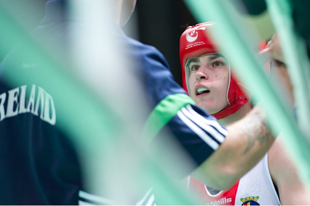Katie Taylor Of Ireland Prepares AFP/Getty Images
