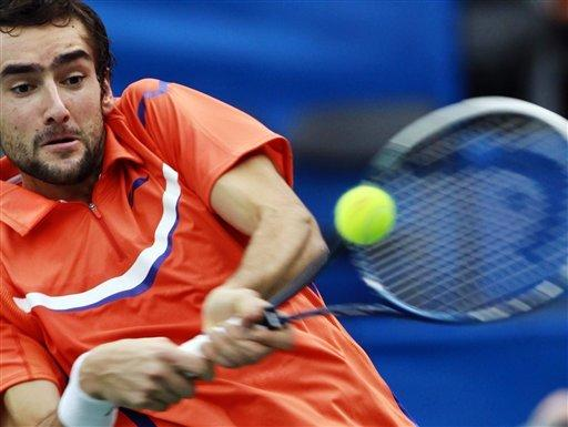 Top seed Cilic moves on to quarters in Memphis