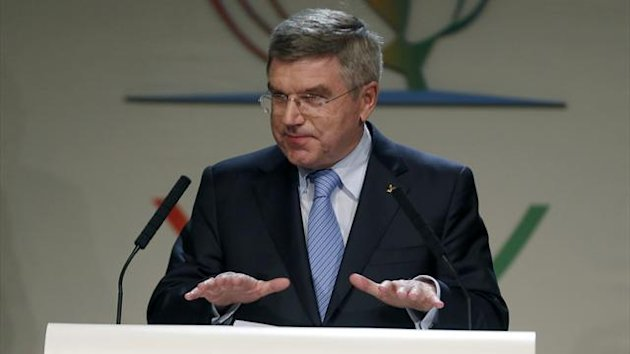 Thomas Bach of Germany (Reuters)