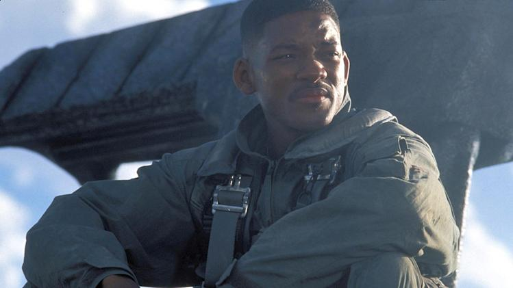 Independence Day 1996 20th Century Fox Production Photos Will Smith