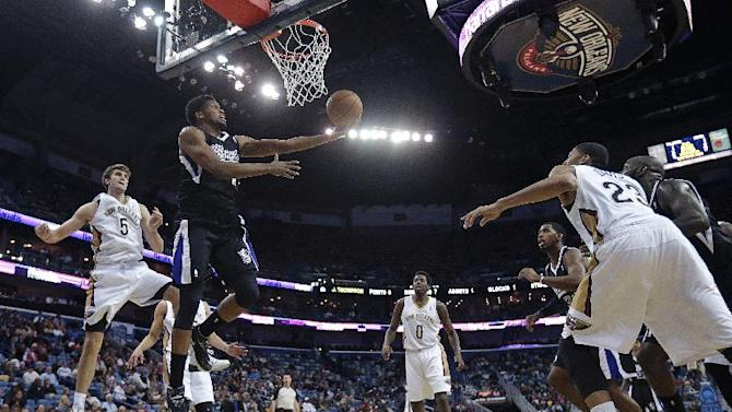 Cousins, Gay out of Kings' lineup again