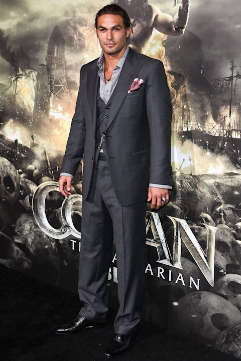 Conan the Barbarian 2011 LA Premiere Jason Momoa