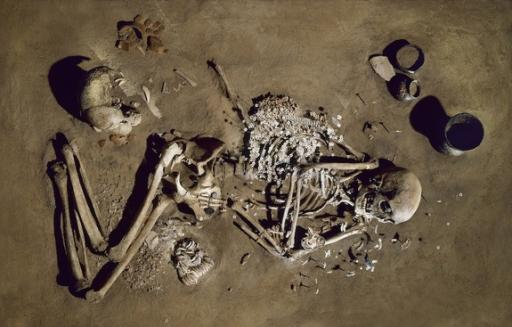 Ancient European Farmers and Hunter-Gatherers Coexisted, Sans Sex