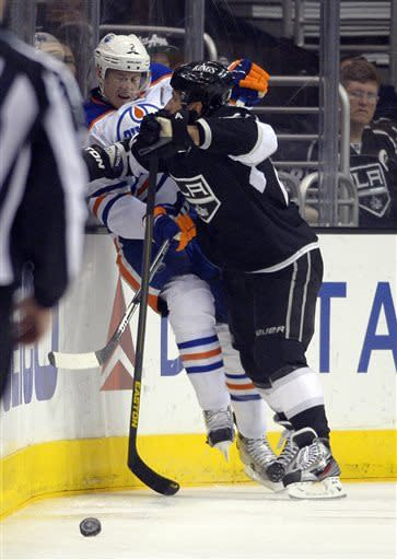 Jeff Carter leads LA Kings past Edmonton 4-1