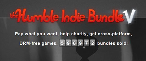 Humble Bundle V rapporte plus de 5 millions de dollars !