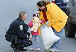 Newtown tragedy | Photo Credits: James Keivom/Getty Images