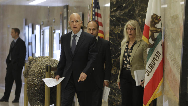 With win, Calif governor takes next step in pledge